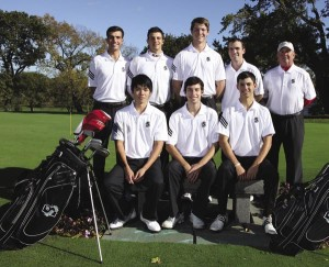 Brown University Head Coach Mike Hughes and his team of young and talented players.