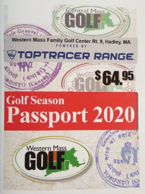 Golf coupon book